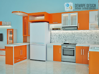 kitchen set minimalis di kota malang