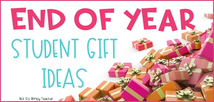 End of Year Student Gift Ideas - Not So Wimpy Teacher