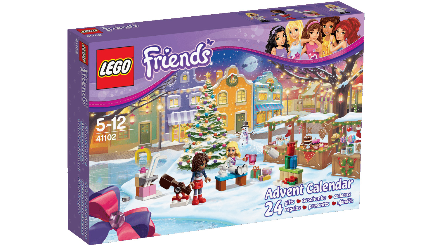LEGO Friends 41102 Jeu De Construction Le Calendrier De Lavent
