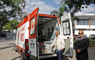 Parceria garante recuperação de ambulância para o Município de Teresópolis