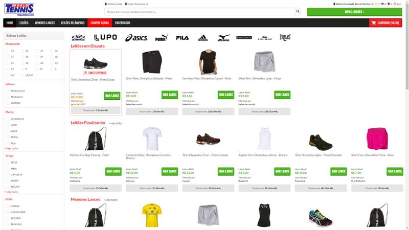 858447334 Achei um site para comprar tênis e roupas esportivas por preços incríveis   World Tennis Mega Leilão. Já conhece