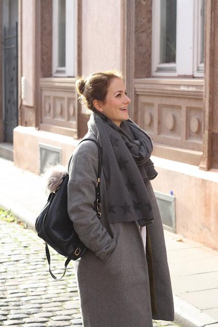 German Fashionblog Kiel Stuttgart Mode Langmantel Herbstlook