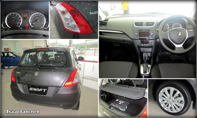 A look inside, and outside of the new Suzuki Swift 2013