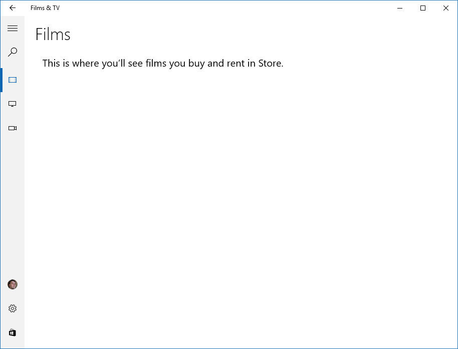 Reviews Of Blah: Windows 10 System Apps Review: Films & TV