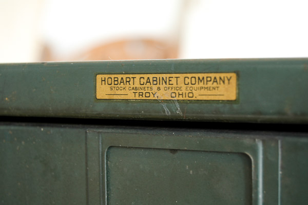 hobart cabinetry company metal hardware cabinet