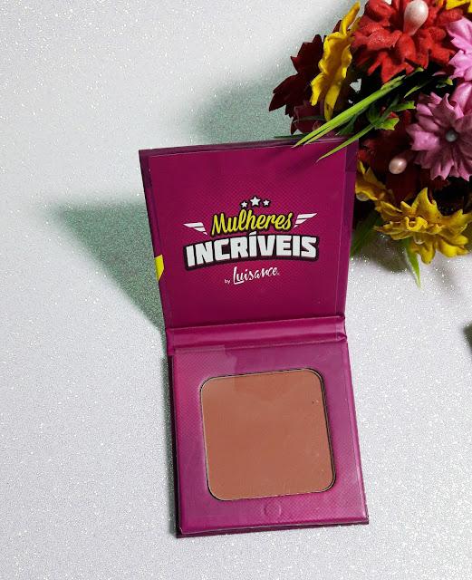 blush mulheres incriveis Luisance - Comprinhas