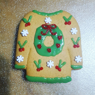 Gingerbread Christmas Jumper