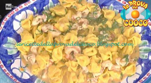 Prova del cuoco - Ingredienti e procedimento della ricetta Inganapuvrett in salsa di gamberi e rabarbaro di Daniele Persegani