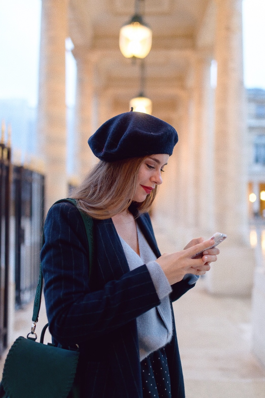 blog mode look beret