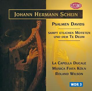 Johann Hermann Schein : Psalmen Davids, sampt etlichen Moteten und dem Te Deum