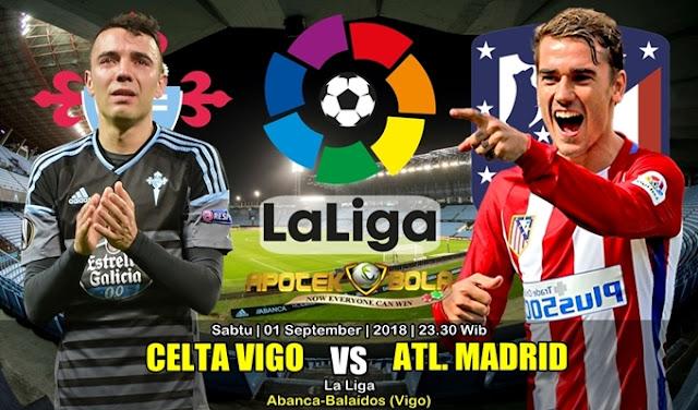 Prediksi Celta de Vigo Vs Atletico Madrid 1 September 2018