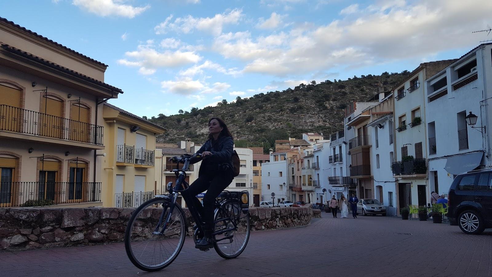 E-bikes in Villafamés, Castellón