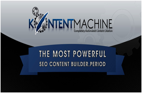 Kontent Machine SEO content builder