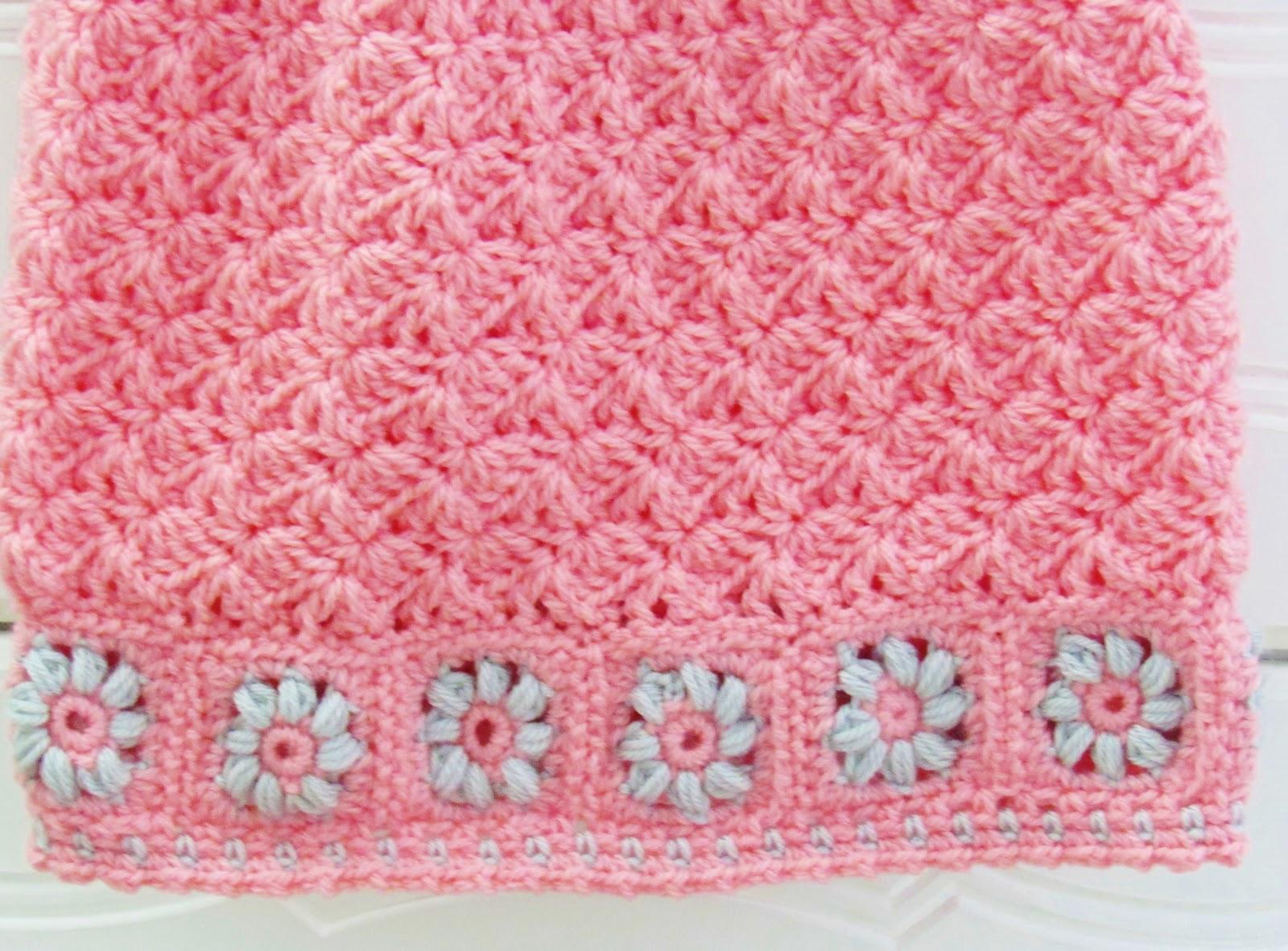 Floral Baby Dress Crochet Pattern - Crochet Dreamz