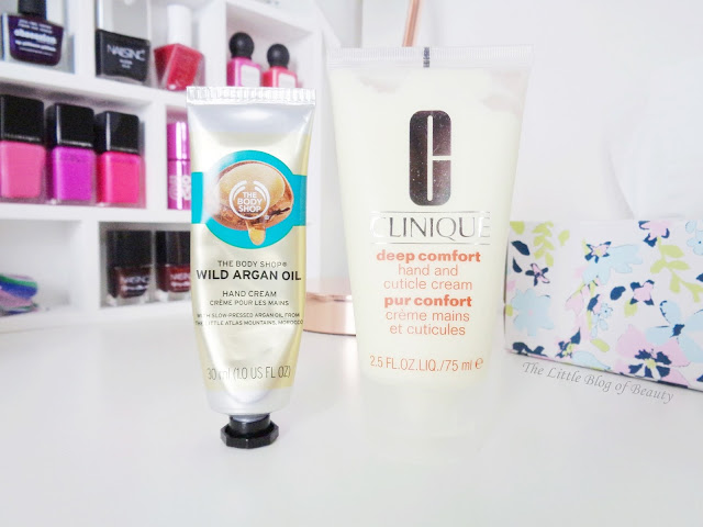 The kick-ass hand creams - The Body Shop & Clinique
