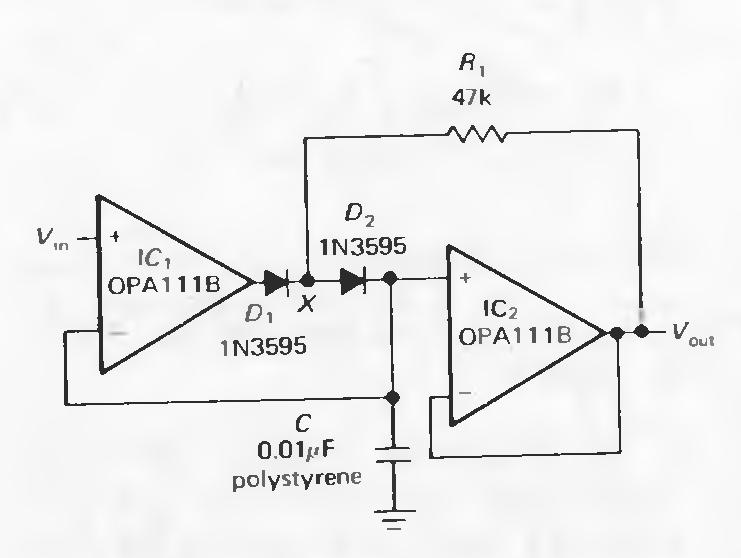 peak voltage detector circuit