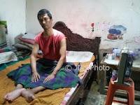 Eks TKI Asal Madiun yang Lumpuh Berharap Istrinya Pulang dari Taiwan