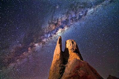 إكتشاف عشرات الآلاف من الثقوب السوداء في مركز مجرتنا درب التبانة Milky Way
