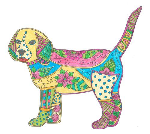 ausmalbücher für erwachsene malbuch für erwachsene hunde