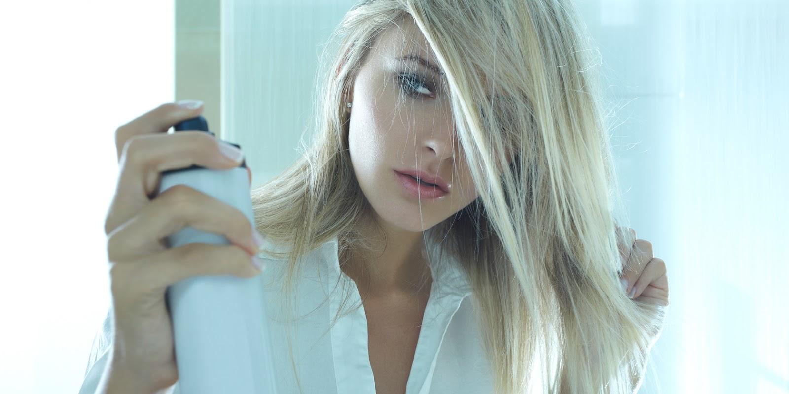 #10 zaskakujących zastosowań lakieru do włosów