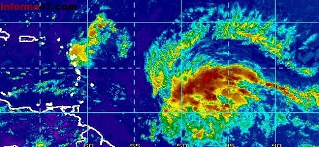 Onamet vigila depresión tropical número 14 de la temporada en el Atlántico