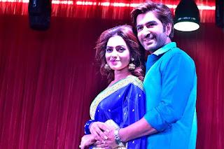nusrat faria and jeet in movie promo