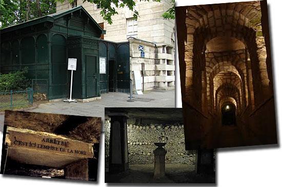 Catacumbas de Paris - França - Entrada das catacumbas