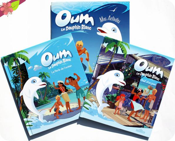 Oum le dauphin blanc - livres et cahier d'activités