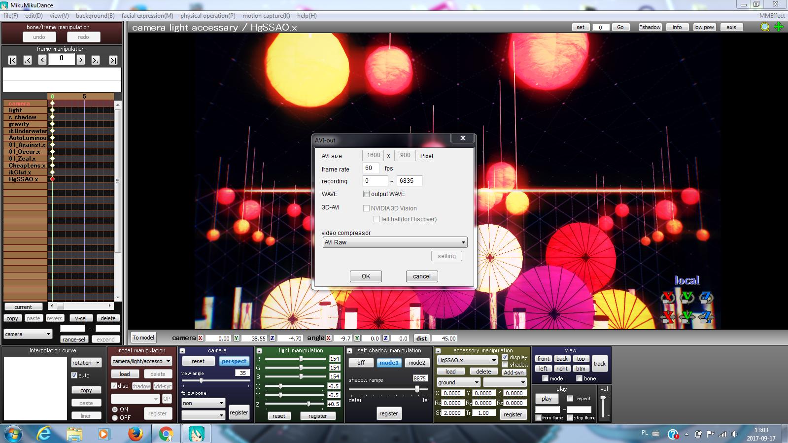 tutorial jak renderowa� filmiki w mmd ��my art studio��