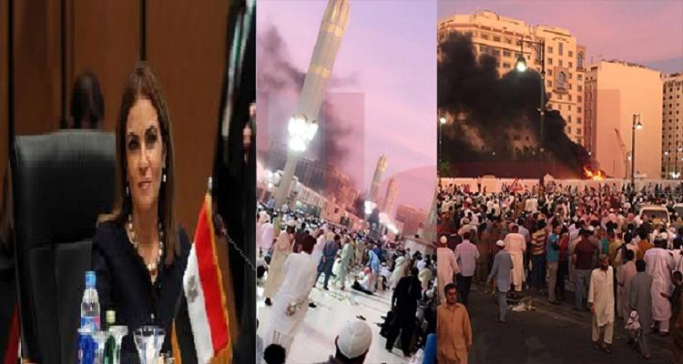 نجاة وزيرة مصرية من تفجير الحرم النبوي بأعجوبة لا تخطر ببال أحد