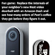 Nest Video Doorbell vs. Amazon Dash #HumorGeek