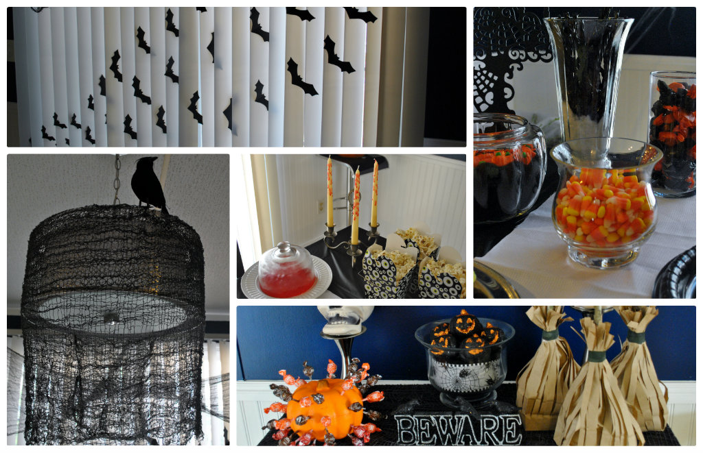Life With 4 Boys: Throwing A Halloween Bash On A Budget + HERSHEY'S Giveaway