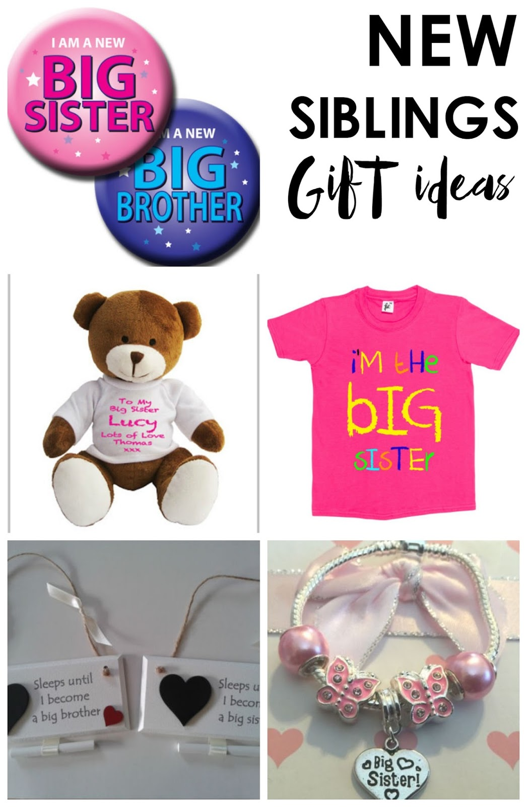 Brand new The Perfect Gifts For A New Big Brother/Sister | Life as Mum | UK  TA45