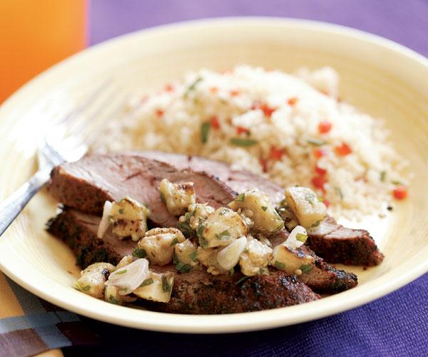 Middle Eastern-Style Flank Steak