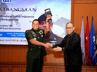 Panglima TNI : Kuatkan Kebhinnekaan Demi Indonesia Bersatu
