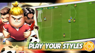 Kung Fu Feet Ultimate Soccer APK Mod Gold Download For Android