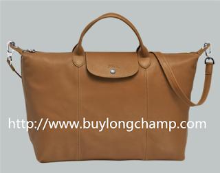 Longchamp Le Pliage Cuir
