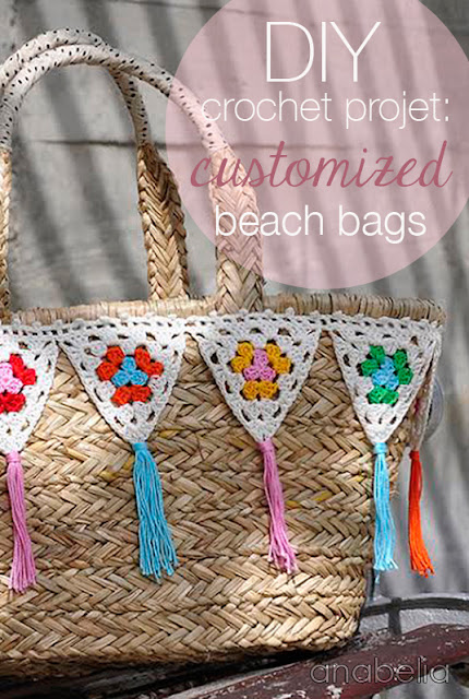 Customized beach bags by Anabelia
