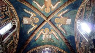 Afrescos do teto da Sancta Sanctorum