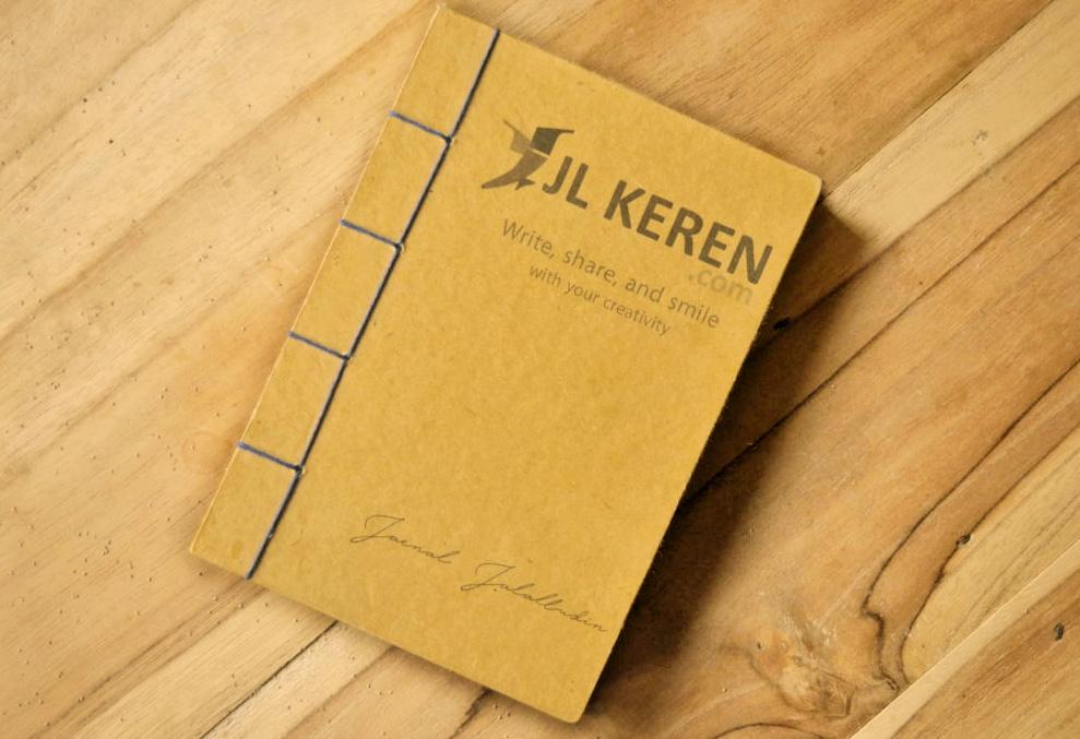 Merchandise Notebook Handmade JL KEREN .com