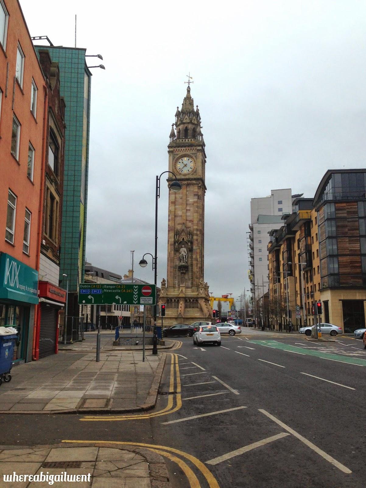 Albert Tower Belfast