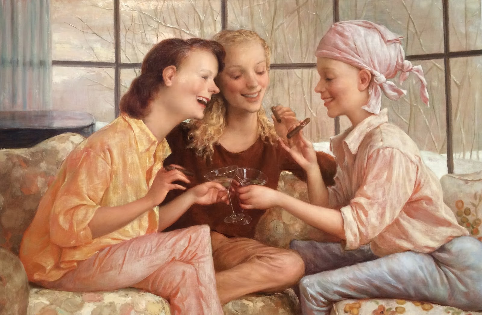 John Currin, 1962 - A Pop Surrealism Painter