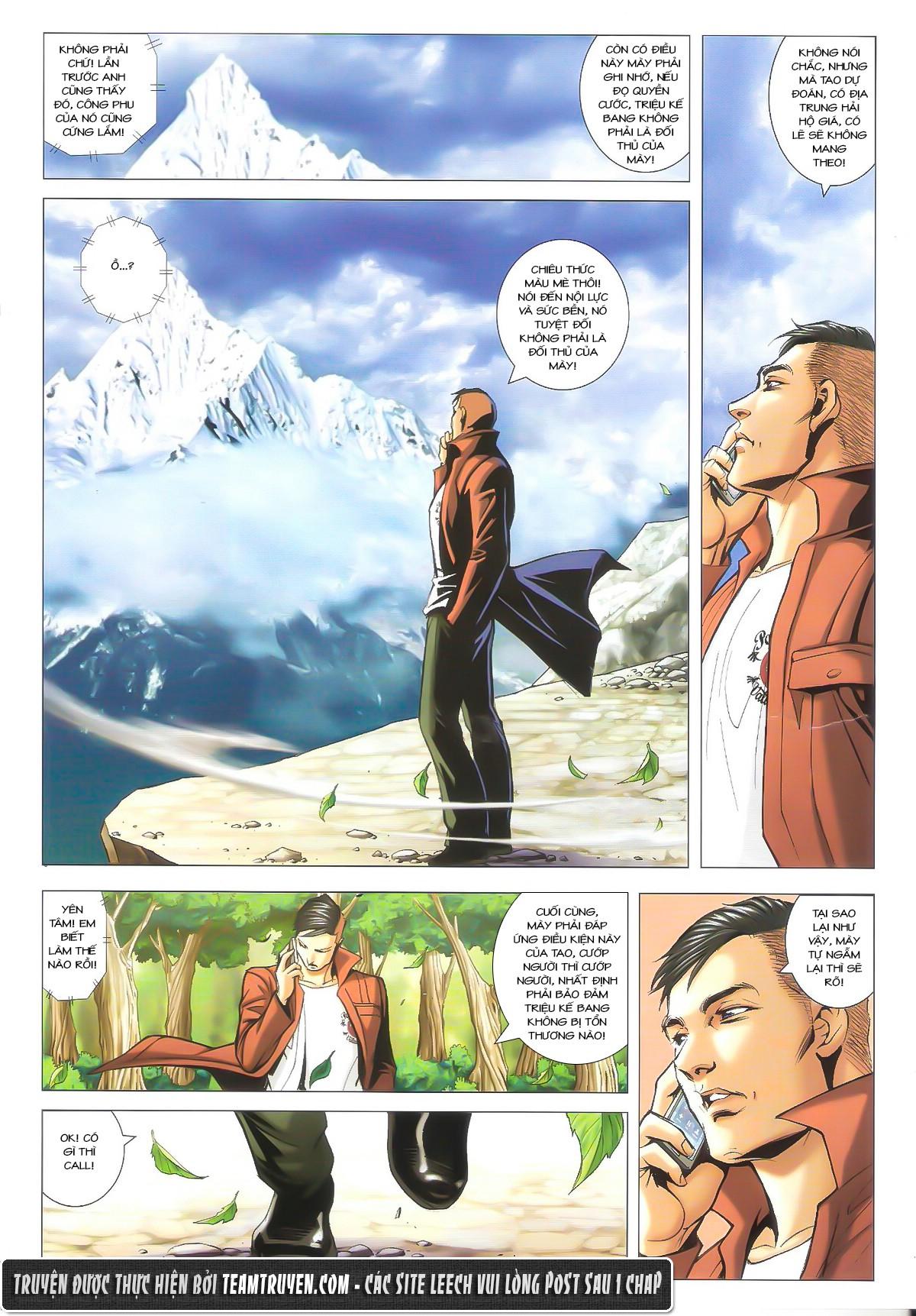 Người Trong Giang Hồ chapter 1612: thần nhân tương ngộ trang 14