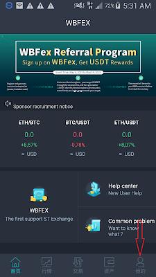 Cara Verifikasi Aplikasi WBFEX Android