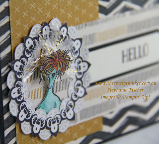 www.thecraftythinker.com.au,Sale-A-Bration, Hey Chick, Make A Medallion, #crazycraftersbloghop, #thecraftythinker, Stampin Up Australia Demonstrator, Stephanie Fischer, Sydney NSW