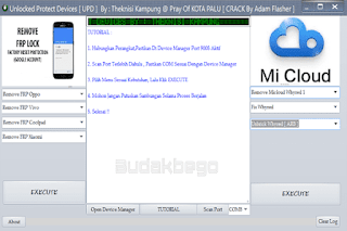 Unlocked Protect Devices [UPD] Tool Special For Remove MiCloud and FRP