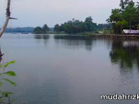 Indahnya Danau Onco Ciampel Karawang Menggoda Hati