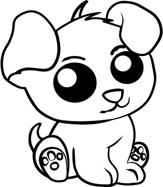 Cute Animal Coloring Pages New