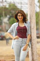 Shraddha Das in a Lovely Brown Top and Denim jeans ~ Exclusive Unseen Beauty HD Pics 004.JPG