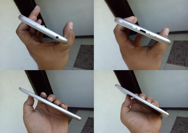 ASUS ZenFone 3 Max ZC553KL Sides